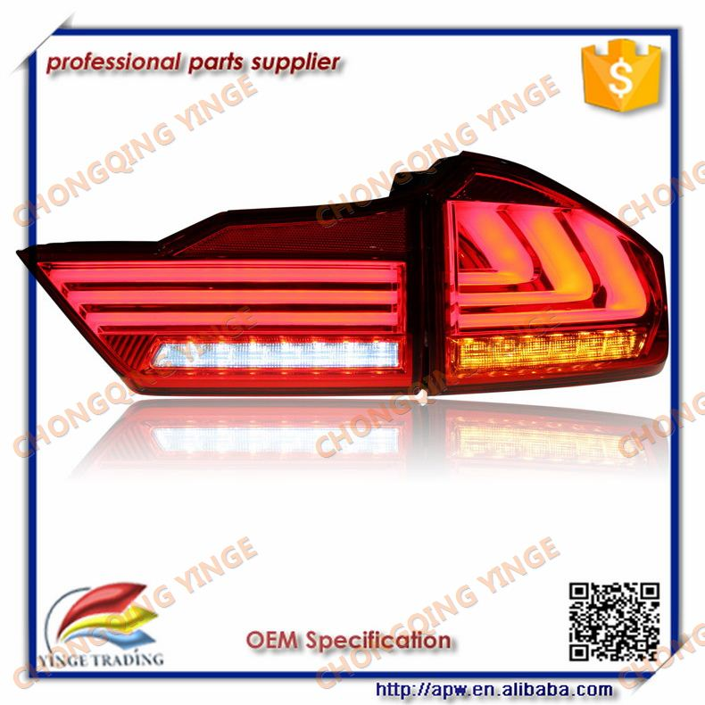For Honda City 2014-up New Led Tail Light Accessories