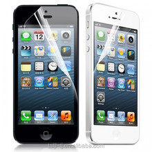 Crystal Clear Explosion-Proof Plastic Screen Protector For iPhone5