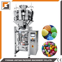chocolate pill candy chocolate ball vertical packing machine