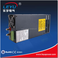 Stable input and output ripple SCN-600-12 AC DC Single output 600W high power switch power supply with Parallel function