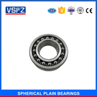 self-aligning ball bearing 1603 2303 for packaging machinery food machinery special bearings outer spherical bearing