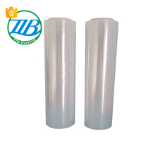 Customized high grade materials wrapping packaging plastic white stretch film