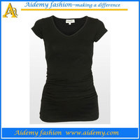 V neck maternity t shirts,wholesale maternity clothes