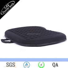 Orthopedic Gel Cushion for Drivers Car Seat Office Chair Stadium with Memory Foam Side Pads Coccyx Sacrum Sciatica Comfort Seat