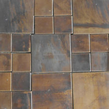 DCHZ-Fe409 Oxidizing Process To Produce Red Antique Copper Finishes on Stainless Steel Surfaces