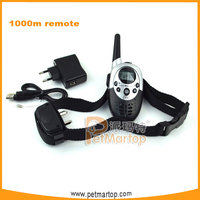 2016 LCD Display Remote Control Dog Collar, Rechargeable Dog Training Shock and Vibration Collar