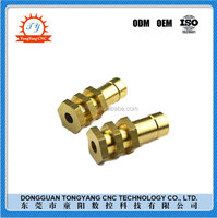 TYCNC customized brass turning parts 3d printer part copper alloy stainless steel CNC Machining service