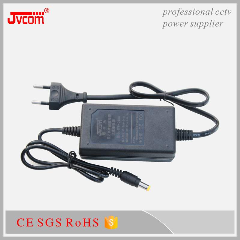 Competitive price DC12V 2A cctv power adapter