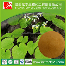 Manufacturer sales epimedium extract icariin powder