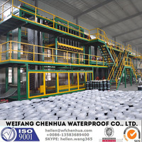 SBS bitumen water proofing membrane roll forming machine -- China factory direct sale