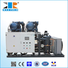 Multiple refrigeration condensing unit for cold storage with Dorin compressor