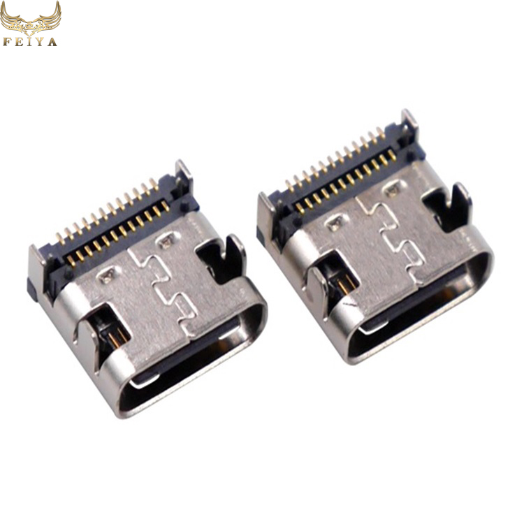 Mini female USB type B 5pin SMT SMD socket connector port