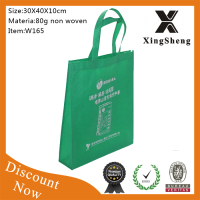 promotion recyclable non woven purse bag fold up non woven bags