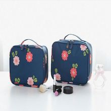 Elegant Fashion custom professional waterproof cotton Makeup Bag and Pouch