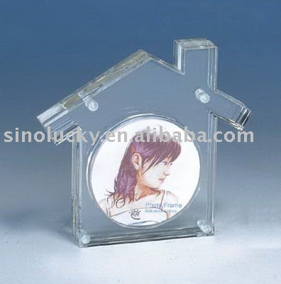 acrylic photo/picture frame holder