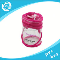 promotional recycle zipper clothing plastic bag