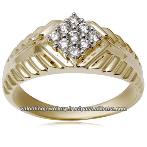 India new design gold finger ring wholesale 🇠🇳 Alibaba