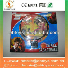 35cm wooden toys basketball board with ball