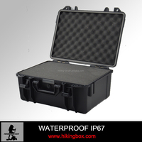 Plastic ABS Waterproof Equipment Tool Case/ Plastic Laptop Storage Case With Compartments HTC009-1