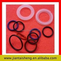 Hot sale round flat rubber ring gasket