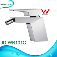 Chrome finishing bidet mixer wall mount sink tap with handle JD-WB101C