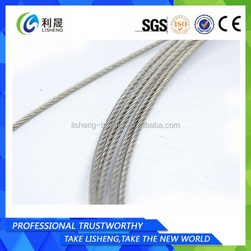 6x7 Galvanized Steel Wire Rope 10mm