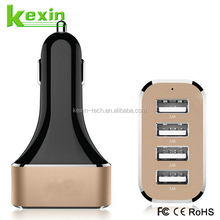 Newest and Popular Multi USB Charger 4 Port 5V 2A USB Car Charger Power Adaptor with IC Protecter