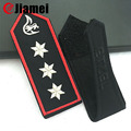 Custom design military uniform soft embroidered epaulette