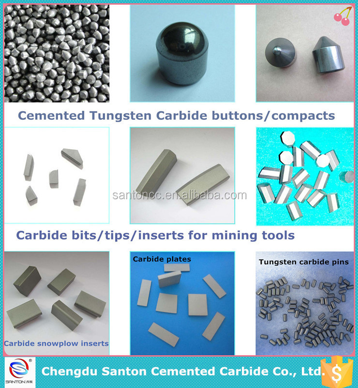 Stable quality tungsten carbide roof bits