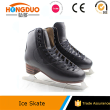 PVC leather speed skates / ice skate