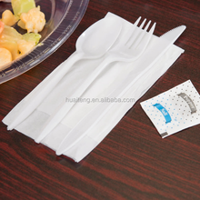 high quality eco-friendly disposable airline silver gold cutlery clear reusable kids disposable plastic cutlery set manufacturer