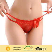 Wholesale Sexy Adult Panties Transparent G-String Young Girl Panties OEM/ODM Underwear Women