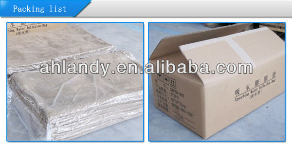 Quick Absorbency Self inflating bag Emergency sandbag Flood Protection SAP Bag