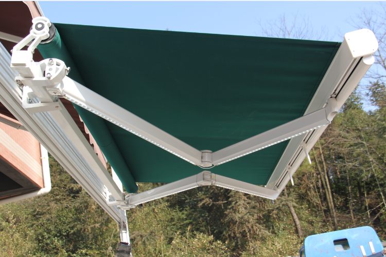 aluminum electric awning