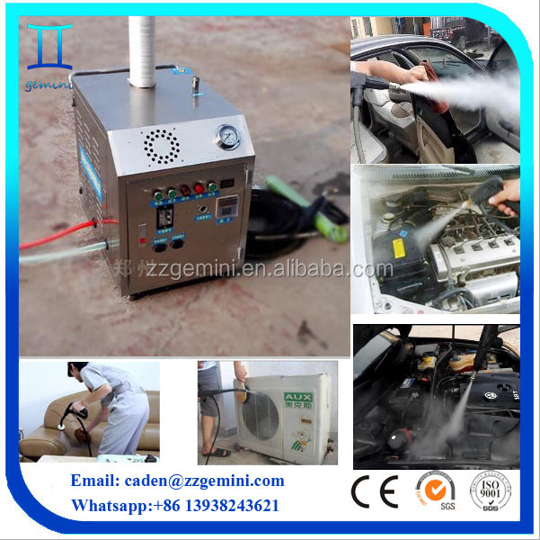automatic cleaning motor hydrogen steam carwash machines