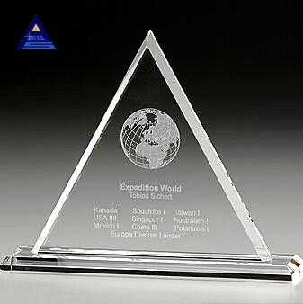 2015 Newest gifts corporate gift trophy memento- -NO.1 Crystal Trophy Factory