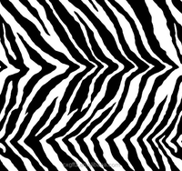 black and white animal pattern zebra design fabric bedding sets