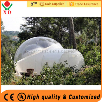 2017 outdoor cheap Inflatable bubble tent,inflatable bubble tent,price for sale bubble tent