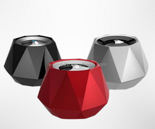 Diamond Shaped BT Speaker, Portable Mini Wireless Speaker for iphone 6/iPad Mini 2 / iPad Mini / iPad Air