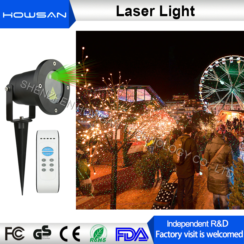 Free samples available RF remote control outdoor Christmas light programmable laser lights show projector