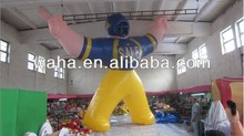 Sports advertising /inflatable athlete people