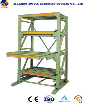 Metal installing drawer slides mold racks with 1200mm