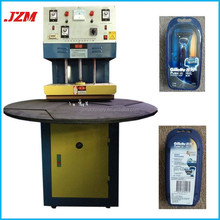 JZM High speed blister pack sealing machine for scouer lipstic razor
