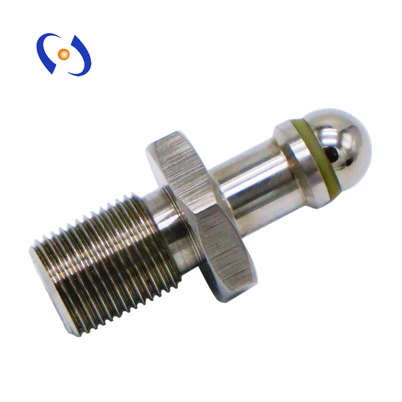 Hot product <strong>cnc</strong> turning parts stainless steel screw M12 for measuring equipment