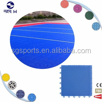 SG pvc PP Sports Floorings for Indoor Basketball/Table Tennis Court