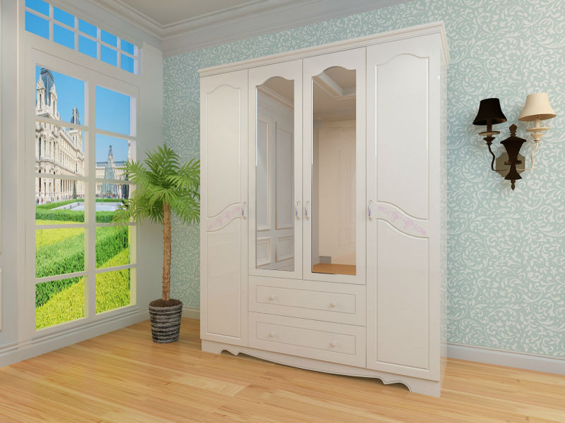 HIGH QUALITY MDF PVC WARDROBES