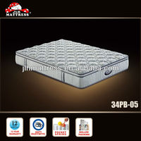 2014 removable mattress cover plastic coil mattress 34PB-05