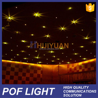 HUIYUAN high quality plastic ceiling optic fiber light
