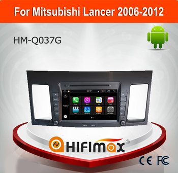 Hifimax Andriod 7.1 Touch Screen Car DVD GPS For Mitsubishi Lancer 200-2012 Touch Screen Car Radio With SD card bluetooth wifi