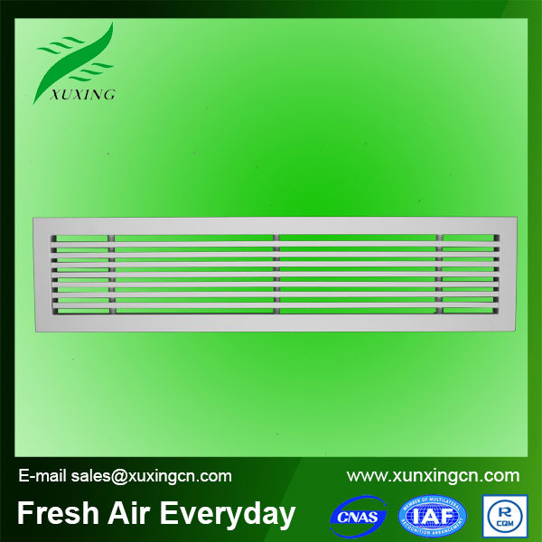 Hvac system air conditioning linear grilles diffusers